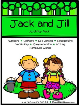 Jack and Jill Activity Pack