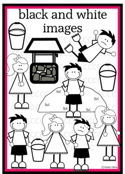 Jack and Jill Clip Art for personal and commercial use
