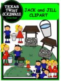 Jack and Jill Nursery ClipArt {Texas Twist Scribbles}