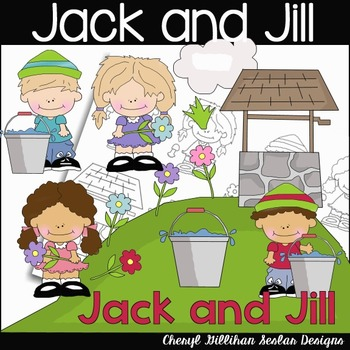 Jack and Jill Clipart Collection