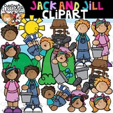 Jack and Jill Clipart {Nursery Rhymes Clipart}