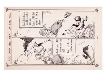 Jack and Jill Comic Strip and Storyboard