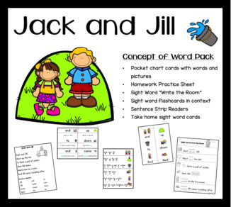 Jack and Jill Concept of Work Pack