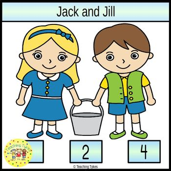 Jack and Jill Clip Task Cards