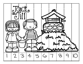 Jack and Jill Counting Preschool Puzzles