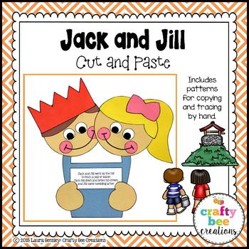 Jack and Jill Cut and Paste