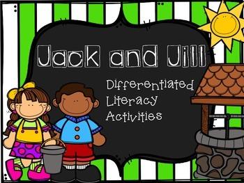 Jack and Jill Literacy Activities