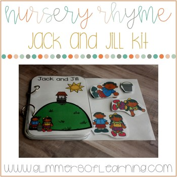 Jack and Jill Interactive Book and Questions