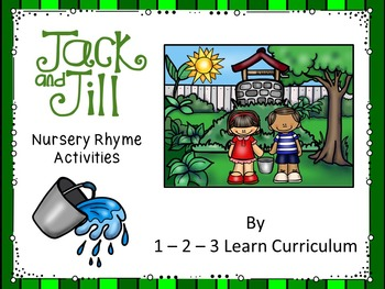 Jack and Jill Magnet Activity