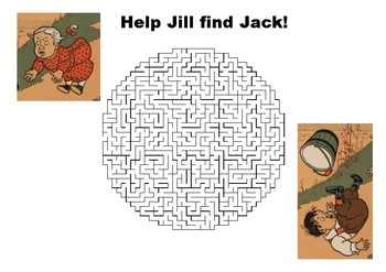 Jack and Jill Maze Puzzle