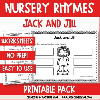 Jack and Jill- Nursery Rhyme