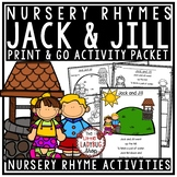 Jack and Jill Nursery Rhyme Printable Activities