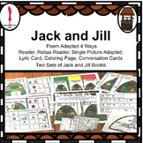 Jack and Jill Nursery Rhyme, Adapted, Sequence, Conversation Cards