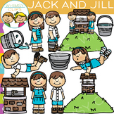 Jack and Jill Nursery Rhyme Clip Art