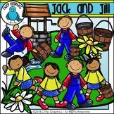 Jack and Jill Nursery Rhyme Clip Art Set - Chirp Graphics