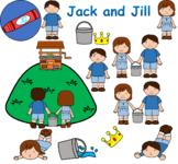 Jack and Jill Nursery Rhyme ClipArt