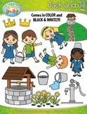 Jack and Jill Nursery Rhyme Clipart {Zip-A-Dee-Doo-Dah Designs}