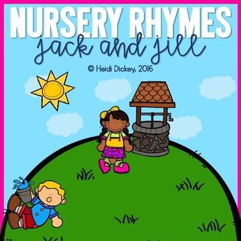 Jack and Jill Nursery Rhyme Pack