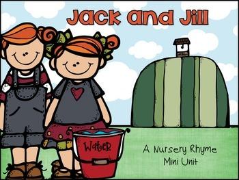 Jack and Jill Nursery Rhyme Set