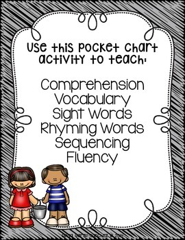 Jack and Jill Pocket Chart Activities