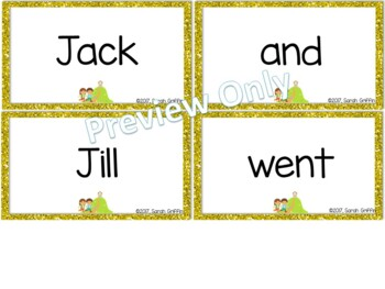 Build a Poem ~ Jack and Jill ~ Pocket Chart Center