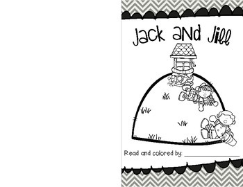 Jack and Jill Poem and Emergent Reader
