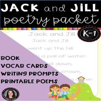Poetry Packet - Jack and Jill by Sarah Griffin | TpT