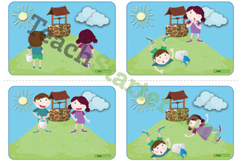 Jack and Jill Sequencing Activity Cards