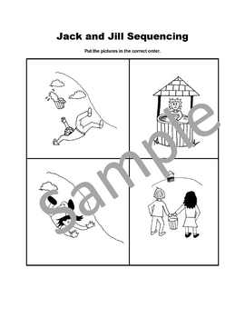 Jack and Jill Sequencing Cards