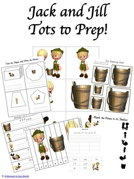 Jack and Jill Tot to Prep Pack