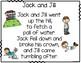 Jack and Jill build a poem pocket chart center
