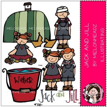 Jack and Jill clip art- by Melonheadz