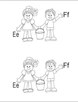 Jack and Jill's ABCs Emergent Reader