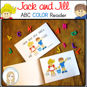 Jack and Jill's ABCs  Color Emergent Reader