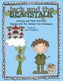 Jack and The Beanstalk Literacy and Math Activities Aligned With the Common Core