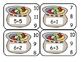 Jack and the Bean Stalk Addition Clip Card Math Center