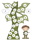 Jack and the Bean Stalk Capital Alphabet Mat