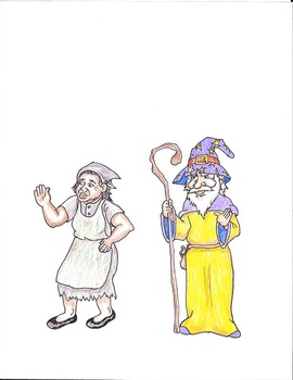 Characters - Jack and the Bean Stalk