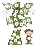 Jack and the Bean Stalk Lowercase Alphabet Mat
