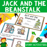 Jack and the Beanstalk Activities - Print & Digital Distan