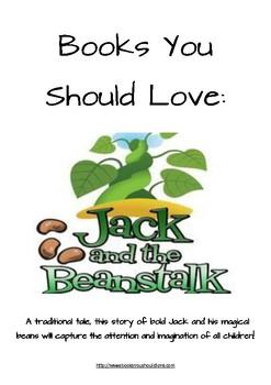 Jack and the Beanstalk Fairy Tale Lesson Plan
