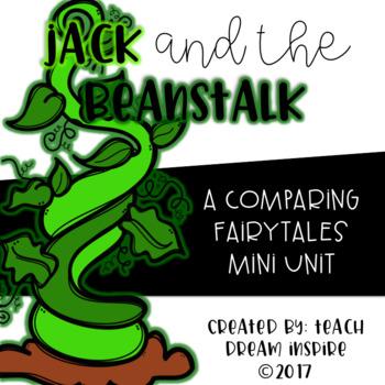 Jack and the Beanstalk {A Comparing Fairy Tales Mini Unit}