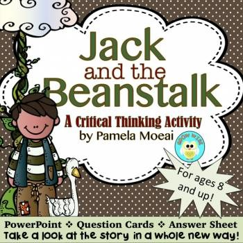 Jack and the Beanstalk!  A Critical Thinking Activity