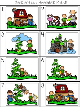 Jack and the Beanstalk - A Fairy Tale Comprehension Unit - Jabber the Reteller