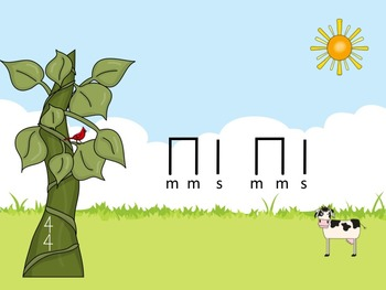 Jack and the Beanstalk - A Game for Practicing So-Mi (stick notation)