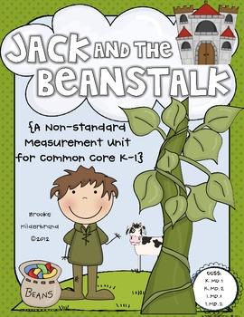 Jack and the Beanstalk {A Nonstandard Measurement Unit for Common Core}