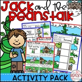 Jack and the Beanstalk Activities (Reader, Sequencing & More)