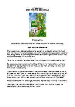 Jack and the Beanstalk Activity Book