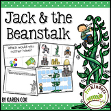 Jack and the Beanstalk Activities (Pre-K, Preschool)