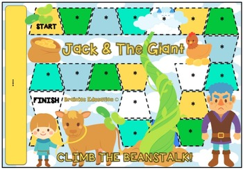 Jack and the Beanstalk Blank Board Game